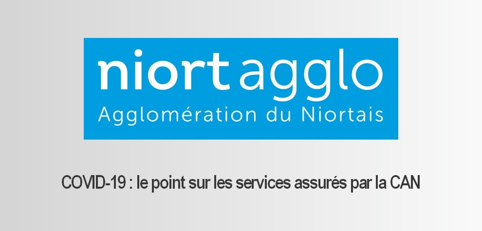 Point de situation NiortAgglo au 17 avril 2020